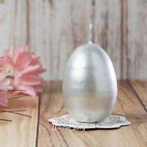 Пасхальная свеча Silver 7 см (Омский Свечной)
