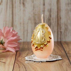 Пасхальная свеча Верба 6 см (Омский Свечной)