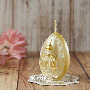 Пасхальная свеча Церковь 6 см (Омский Свечной)