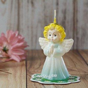 Декоративная свеча Ангел 8 см (Омский Свечной)