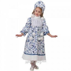 Карнавальный костюм Снегурочка Ледянка, рост 110 см (Батик)