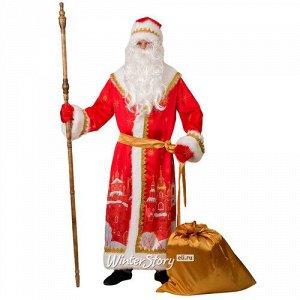 Карнавальный костюм для взрослых Дед Мороз - Красный Город, 54-56 размер (Батик)