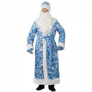Карнавальный костюм для взрослых Дед Мороз сказочный, 54-56 размер (Батик)