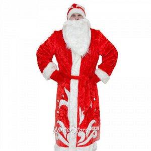 Взрослый карнавальный костюм Дед Мороз, 52-54 размер (Бока С)