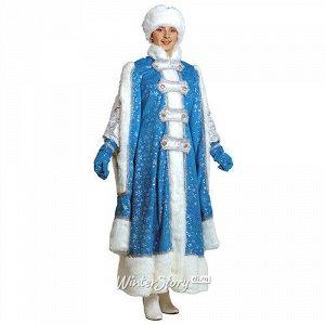 Карнавальный костюм для взрослых Снегурочка Боярыня, 44-48 размер (Батик)