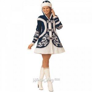 Карнавальный костюм для взрослых Снегурочка Купеческая, 44-48 размер (Батик)