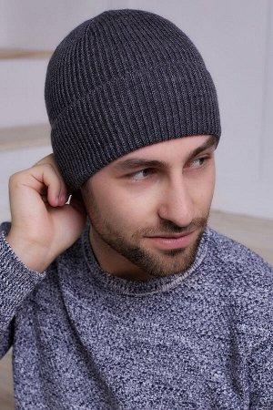 Мужская шапка Луи Антрацит