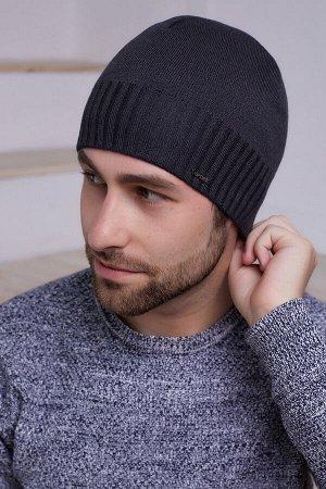 Мужская шапка Марко Антрацит