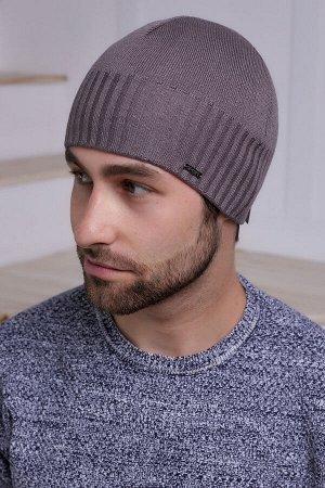 Мужская шапка Марко Беж Темный
