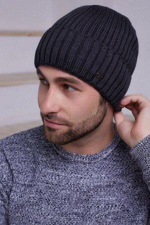 Мужская шапка Остин Антрацит