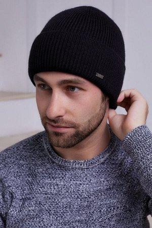 Мужская шапка Ричи Черный
