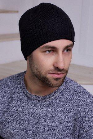 Мужская шапка Томас Черный