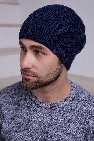 Мужская шапка Феликс Темно-синий