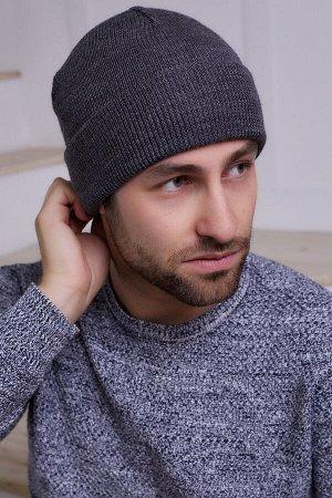 Мужская шапка Эдвин Антрацит
