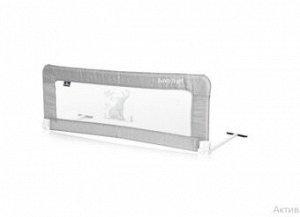 Защитный барьер для кроватки Lorelli Safety Night 1018003 (Серо-синий / Silver Blue Car 2154)