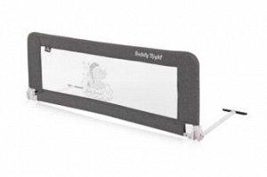 Защитный барьер для кроватки Lorelli Safety Night 1018003 (Серый / Grey Fun 2140)