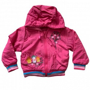 Ветровка для девочки цвет розовый