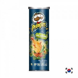 Pringles Jalapeno110g - Корейские Принглс халапеньо