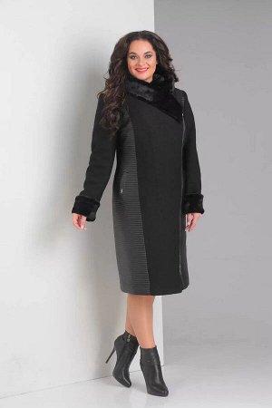 Женское пальто Diamant 868 черный