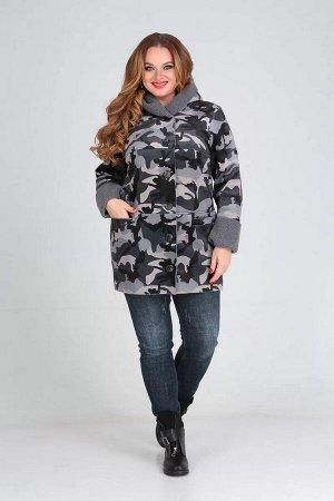 Полупальто Полупальто женское из дублёночной ткани с горизантальными настрочеными рельефами на полочке и спинке.Средний шов и боковые швы выполненыс настрачиванием срезов для большего усиления.Рукав в