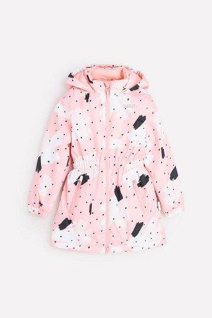 Демисезонная утепленная куртка для девочки Crockid ВК 32111/н/1 УЗГ