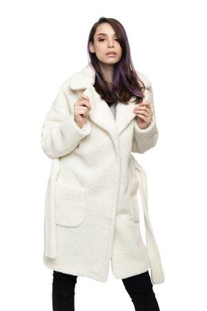 Пальто ELEGANT FUR цвет Ваниль