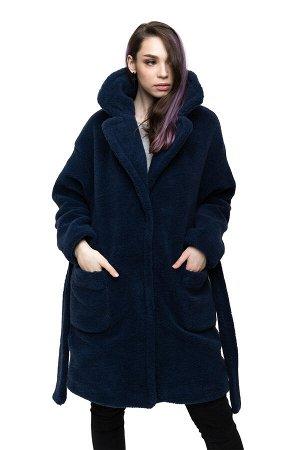 Пальто ELEGANT FUR цвет Индиго