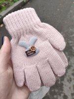 Перчатки детские, шерсть