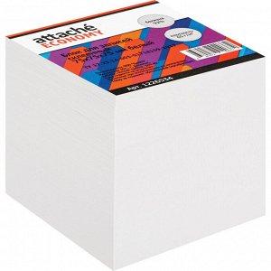 Блок для записей Attache Economy проклеенный 7,5х7,5х7,5, белый, ...