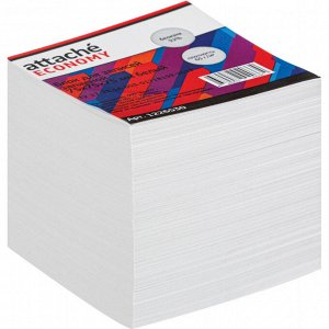 Блок для записей Attache Economy запасной 7,5х7,5х7,5, белый, 65 ...