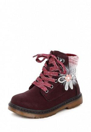 Ботинки детские демисезонные для девочек AK21AW-108B