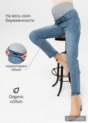 """Джинсы """"Стайл 043"""" для беременных; цвет: деним"""
