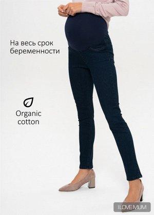 """Джинсы """"Стайл 040"""" для беременных; цвет: темный деним"""