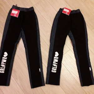 Стильные теплые штаны новые Orby 134 см