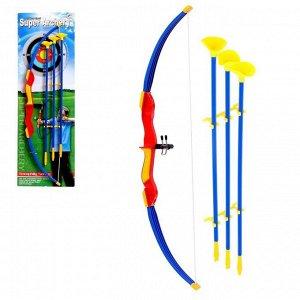 Лук «Арчер», стрелы с присосками