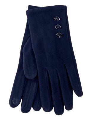 Велюровые демисезонные перчатки, цвет бордовый