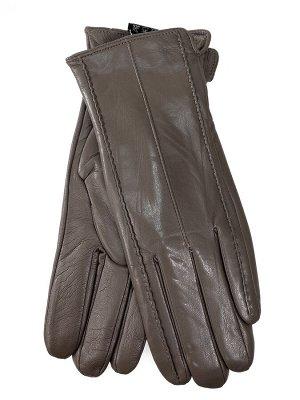 Женские перчатки из натуральной кожи, цвет бежевый