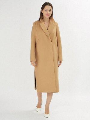 Пальто демисезонное горчичного цвета 42105G