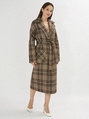 Пальто демисезонное коричневого цвета 40002K