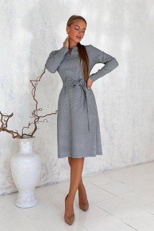 Платье Платье в модном цвете графит моментально станет вашим любимым. Отличное качество, комфорт в носке. Классический офисный стиль подходит для учёбы, корпоративных встреч и мероприятий. Обязательно