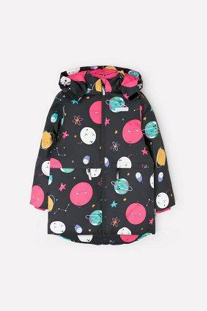 Пальто зимнее для девочки Crockid ВК 38061/н/2 ГР