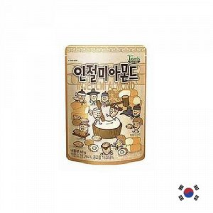 HBAF Injeolmi Almond 40g - Корейские орешки Инчжолми