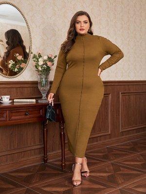 Облегающее платье размера плюс размера плюс