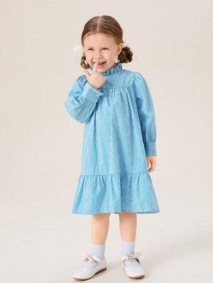 Платье с оборками для девочек