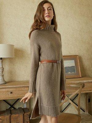 MOTF PREMIUM Платье-свитер мз шерсти и мохера