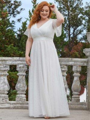 EVER-PRETTY Шифоновое платье размера плюс