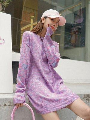 DAZY Платье-свитер