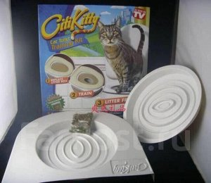 Система для приучения котов к унитазу
