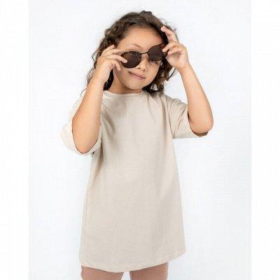 Колготки и носки детские большое поступление, яркие новинки — Новые однотонные футболочки OVERSIZE