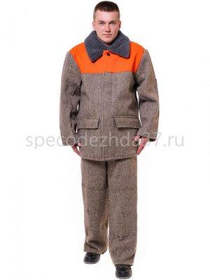 """Костюм рабочий зимний """"Лесоруб"""" с утеплителем тк.сукно (куртка+брюки)"""